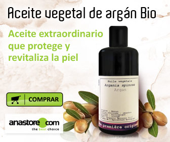 Aceite vegetal de argán